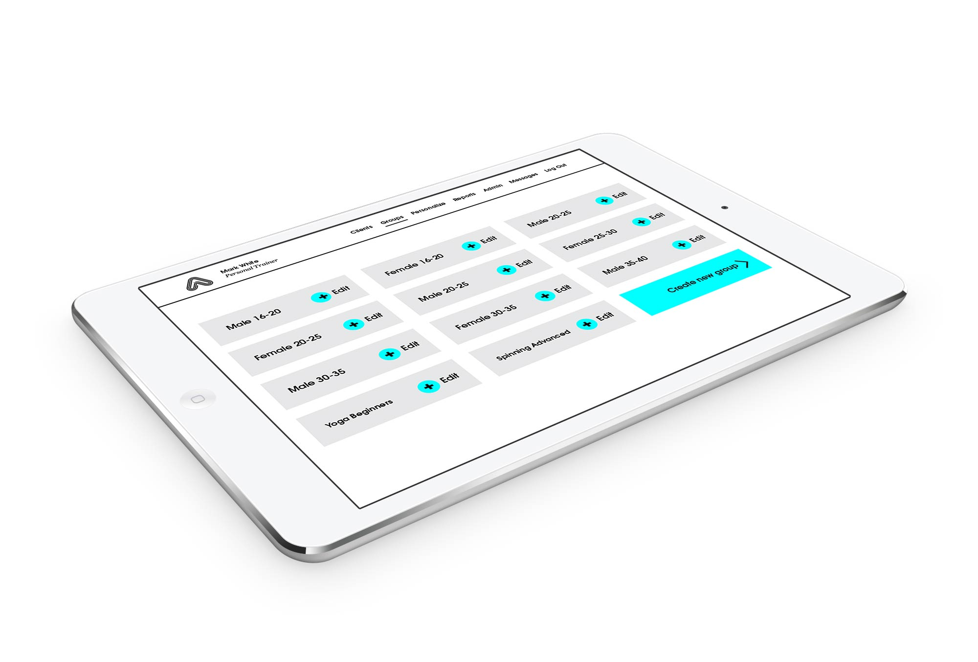 Amaven on a tablet