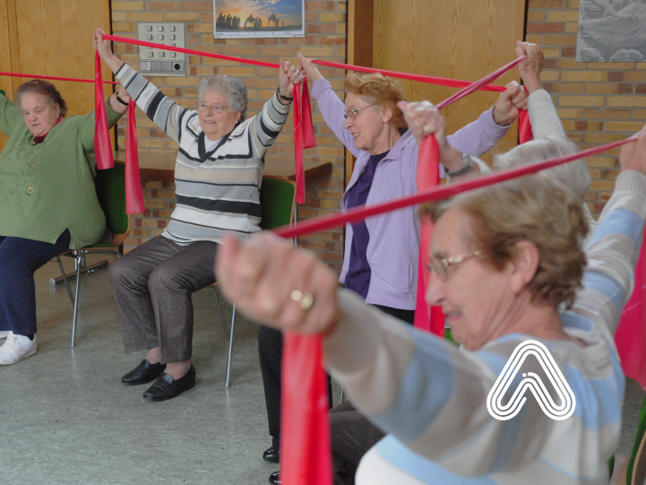 older adults doing activity