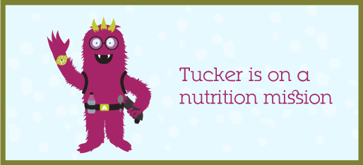 Tucker is on a nutrition misson