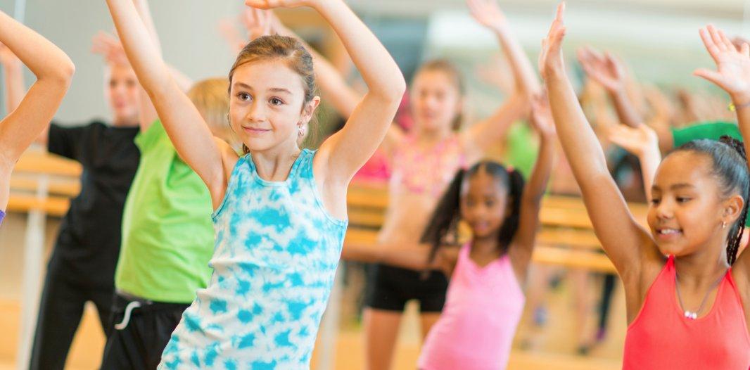 Children in a Dance Class