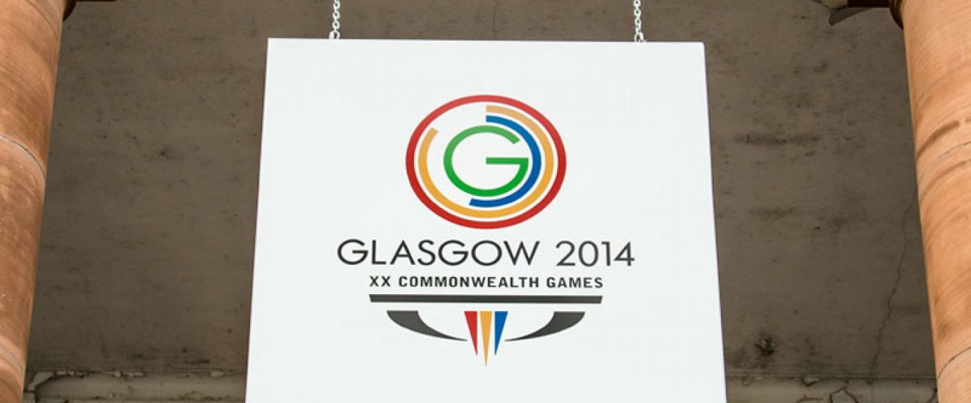 Glasgow Commonwealth Games sign