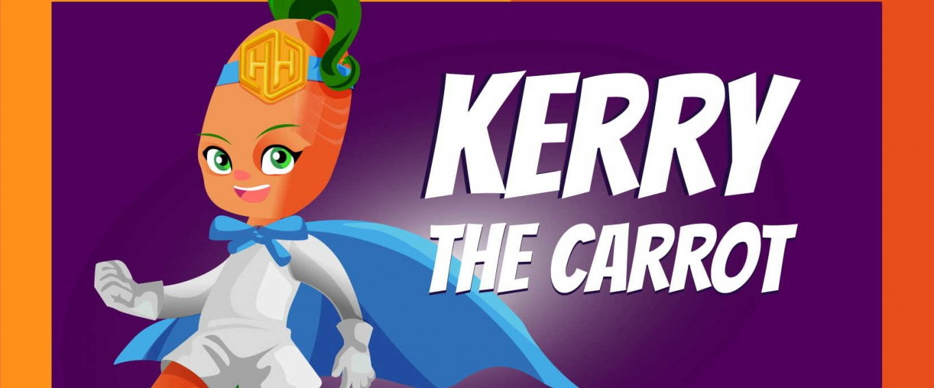 Kerry the Carrot - Amaven's Healthy Heroes