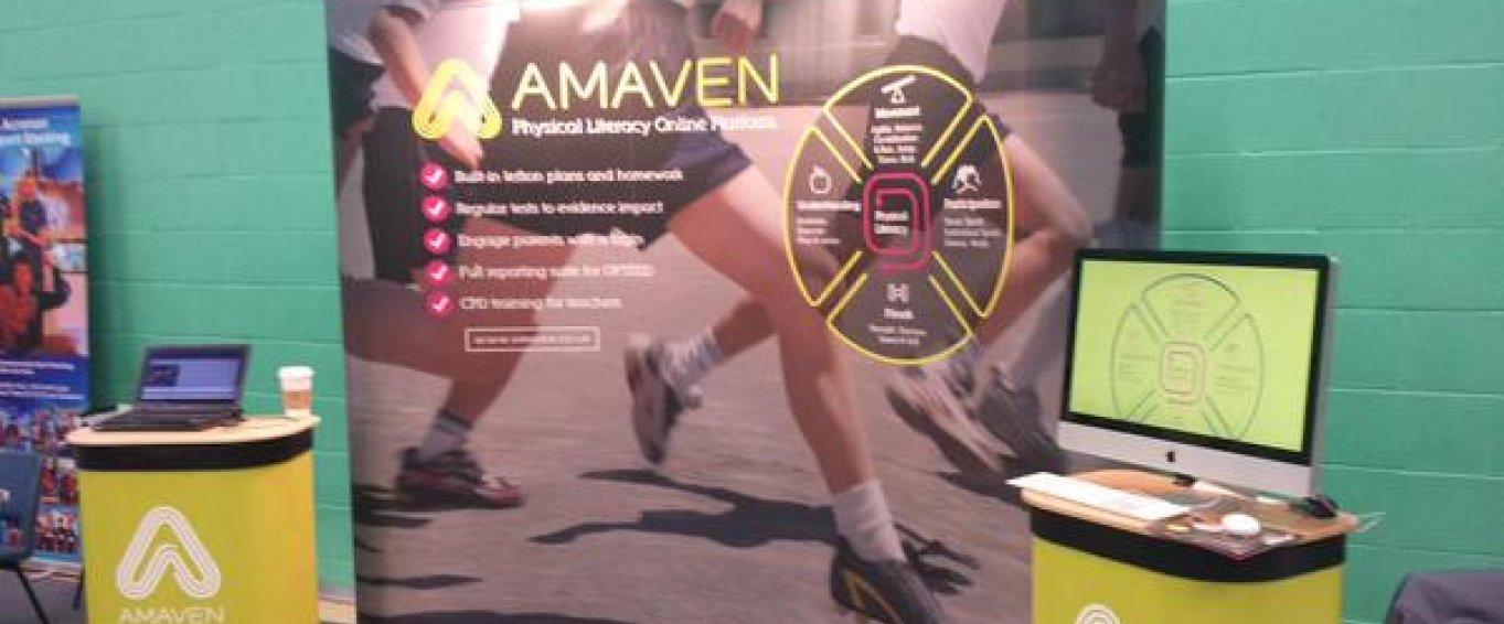 Amaven banner and program