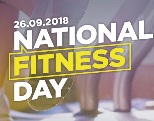 Official National Fitness Day Logo