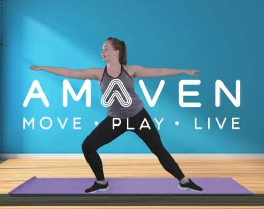 Amaven's Get Up and Active Yoga Session